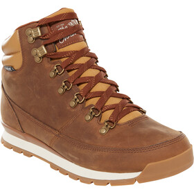 The North Face Back-To-Berkeley Redux Leather Shoes Men dijon brown/tagumi brown